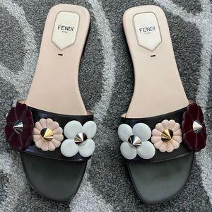 Fendi Flower Sandals